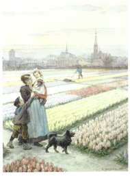 Tussen de bloembollenvelden, Cornelis Jetses
