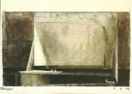 Drie zeilboten, Lyonel Feininger