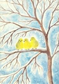 Drie mussen in de sneeuw, Erika Hoffmann