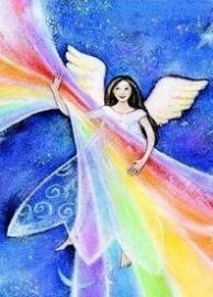 Regenboog-engel, Geertje van der Zijpp