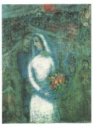 Het paar, Marc Chagall