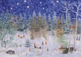 Advent in het dwergenbos, Elisabeth Heuberger