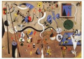 Carnaval van harlekijnen, Joan Miro