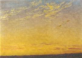 Avond, Caspar David Friedrich