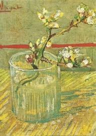 Amandelbloemen twijg, Vincent van Gogh