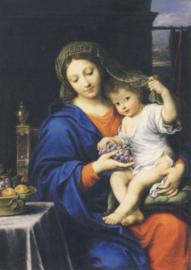 Madonna met de druiven, Pierre Mignard