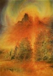 Herfstlandschap, David Newbatt