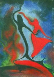 De danseres, Ans Wortel