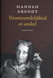 Verantwoordelijkheid en oordeel / Hannah Arendt