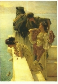 Een gunstig uitkijkpunt, Sir Lawrence Alma-Tadema