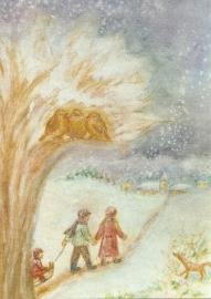 Winterwandeling, Ilona Bock