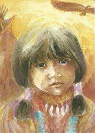 Indianenmeisje, Marie-Laure Viriot