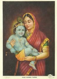 Krishna en Yashoda, M. Abbayi
