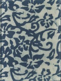Olino Paperworks, Dagboek met slot met Mulberrypapier, Wit met blauw