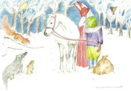 Dieren en Sint Nicolaas, Margo Heine Slezak