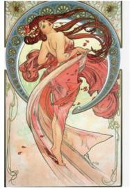 De kunsten: Dans, Alphonse Mucha