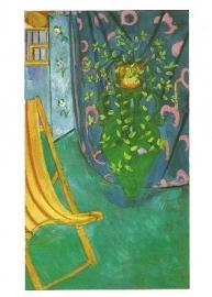 Een hoek van het atelier van de kunstenaar, Henri Matisse