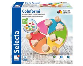 Coloformi , schuifplezier met kleuren en vormen ( 21 mnd +)
