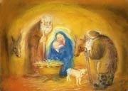 Heilige familie poster, Marjan van Zeyl