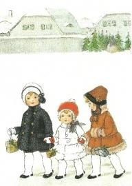 Kinderen met Kerstmis