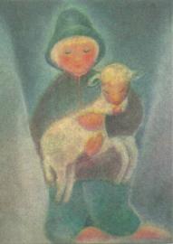 Herdersjongetje met lam, Ruth Elsässer