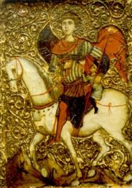 St. Georg, icoon, tweede helft 13e eeuw