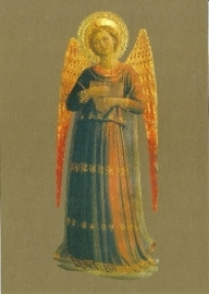 Musicerende engel cymbaal, Fra Angelico