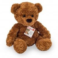 Teddy beer bruin (35 cm) (met bromgeluid)