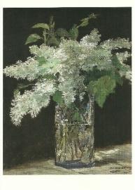 Witte seringen in vaas, Edouard Manet