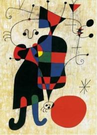 Hond voor de zon, Joan Miró
