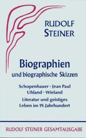 Biographien und biographische Skizzen 1894-1905 GA 033 / Rudolf Steiner