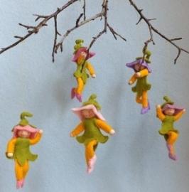 Vijf lente klokjes