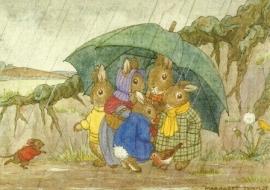 Bescherming tegen de regen, Margaret Tarrant