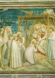 Aanbidding van de Koningen, Giotto