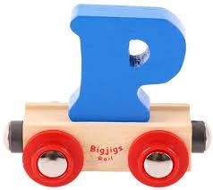 Lettertrein P