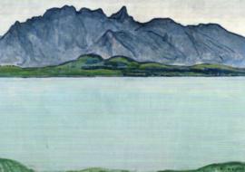 Thuner See mit Stockhornkette, Ferdinand Hodler