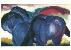 De kleine blauwe paarden, Franz Marc