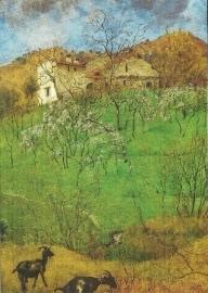 Landschap bij Gardone, Hans Thoma