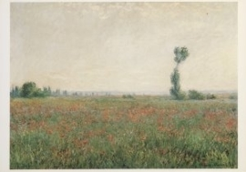 Papaverveld, Claude Monet