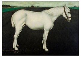 Wit paard, Jan Mankes