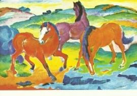 De rode paarden, Franz Marc