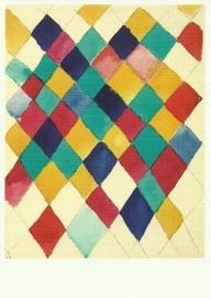 Kleurstudie met ruiten, Wassily Kandinsky