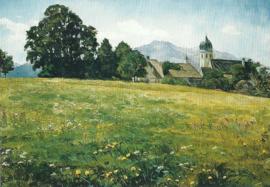 Kloosterwei bij Frauenchiemsee, Wilhelm Trübner