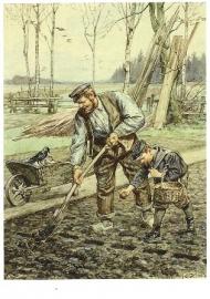 Spitten en poten, Cornelis Jetses