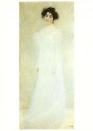Portret van staande vrouw, Gustav Klimt