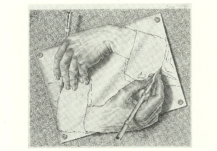 Tekenen, Escher