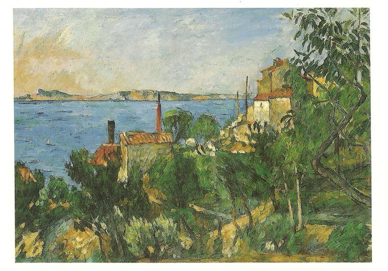 De zee bij l'Estaque, Paul Cézanne