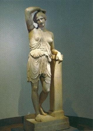 Gewonde Amazone van Polykleitos van Argos, 430 v. Chr.