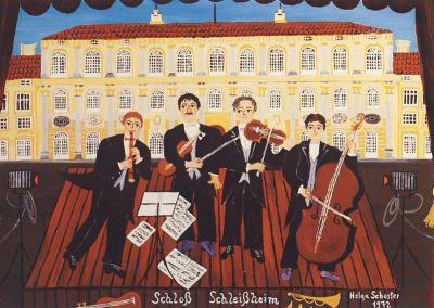 Concert in Schleissheim, Helga Schuster