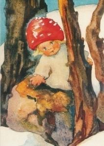 Paddestoelenkind, Mili Weber